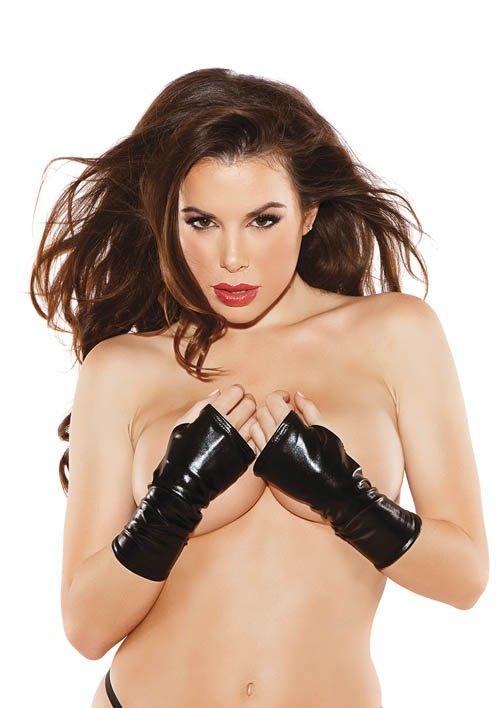 Gloves Kitten Black S/L