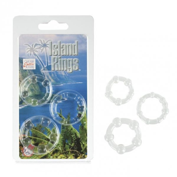 Island Rings - Clear