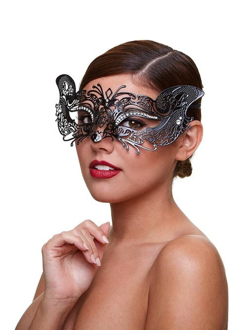 Metal Venetian Masque - Courtesan