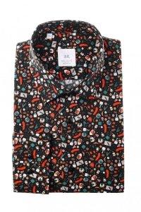 Koszula męska Slim - w świąteczny wzór