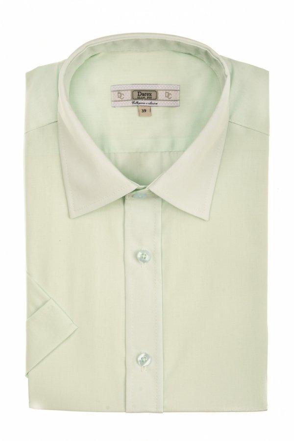 Koszula męska Slim - jasno zielona