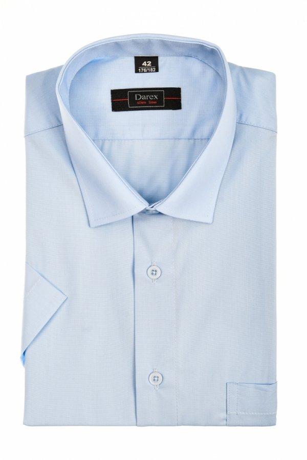 Koszula męska Slim - niebieska