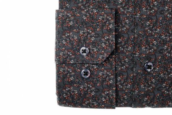 Koszula męska Slim - w kwiatowyy wzór