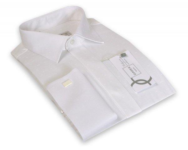 Koszula męska Slim - wizytowa w kolorze kości słoniowej