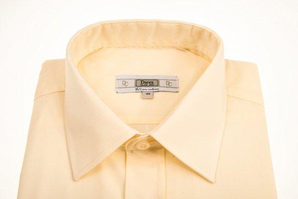 Koszula męska Slim  - żółta