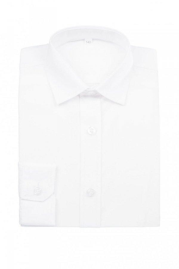 Koszula dziecięca slim - biała