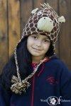 Czapka żyrafa