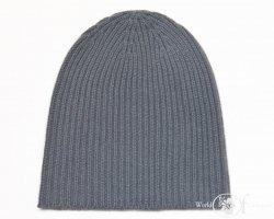Gruba czapka jednokolorowa