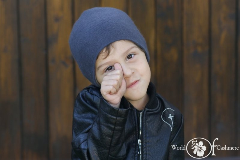 Czapka dwustronna dziecięca (ok. 2-4 lat)