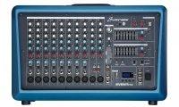 Studiomaster Event 712 powermikser 2 x 250W, USB, odtwarzacz MP3-SD, USB