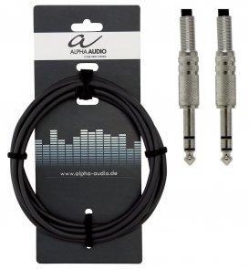 KABEL INSTRUMENTALNY  3m Jack stereo/Jack stereo