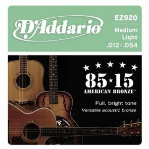 D`Addario EZ920 medium light 12-54