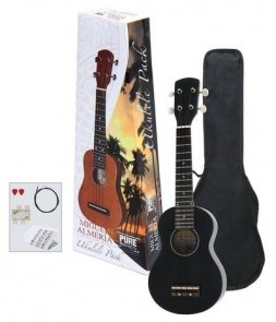 GEWAPURE UKULELE ALMERIA PLAYER PACK