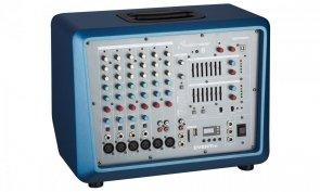 Studiomaster Event 78 powermikser 2 x 250W z odtwarzaczem MP3-SD, USB