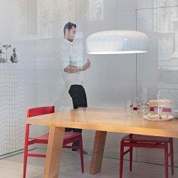 Lampa wisząca SMITH biała