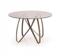 Stół LUNGO złoty antyczny/brązowy