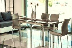 Stół rozkładany GD018 ciemny beż