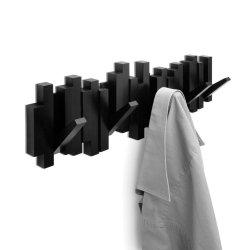 Wieszak na ubrania STICKS czarny