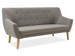 Sofa NORDIC 3 szara/buk