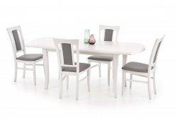 Stół rozkładany FRYDERYK 160(240)x90 biały