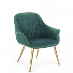 Fotel ELEGANCE 2 ciemno zielony