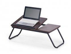 Stolik na laptop B19 ciemny orzech