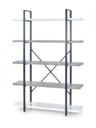 Regał STONNO REG-2 biały/beton