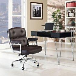 Fotel biurowy ICON PRESTIGE PLUS brązowy