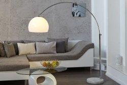 Lampa podłogowa SLACK biała