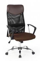 Fotel biurowy VIRE brązowy