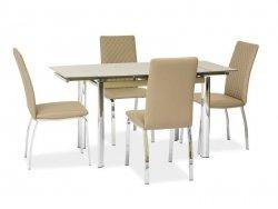 Stół rozkładany GD019 ciemny beż
