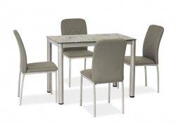 Stół DAMAR 80x60 szary