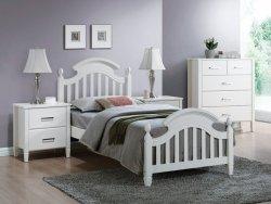 Łóżko LIZBONA 90x200 biały