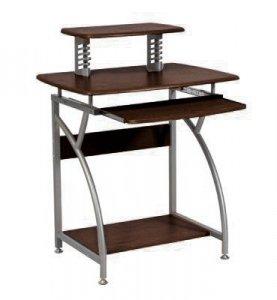 Biurko komputerowe szkolne B-07 ciemny brąz