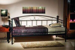 Łóżko metalowe Ankara 90x200 Białe