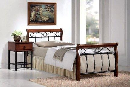 Łóżko VENECJA 90 X 200 Czereśnia Antyczna