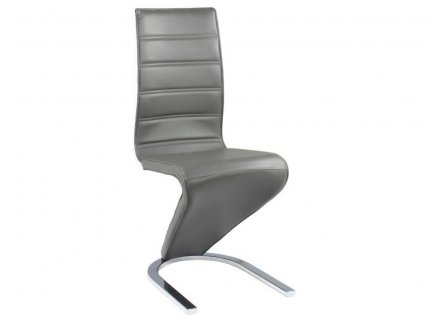 Krzesło H669 szary/biały