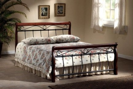 Łóżko VENECJA 160X200 czereśnia antyczna