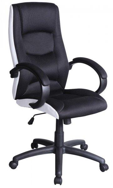 Fotel gabinetowy obrotowy Q-041 Czarny