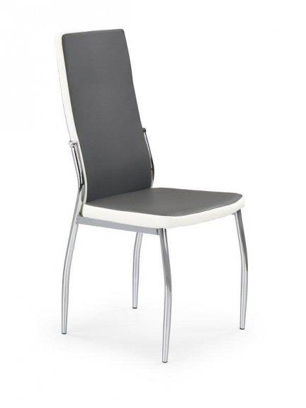 Krzesło K210 popielato/białe