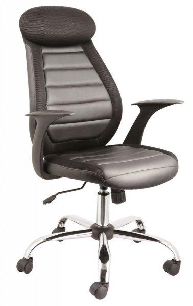 Fotel gabinetowy obrotowy Q-102 Czarny