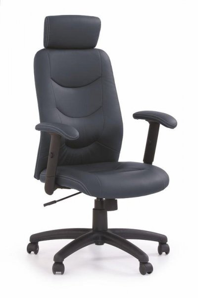 Fotel gabinetowy STILO czarny