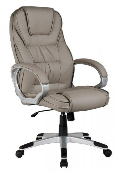 Fotel gabinetowy obrotowy Q-031 SZARY