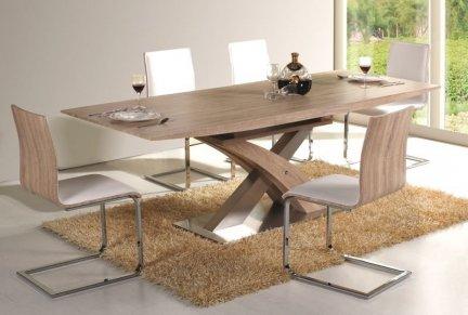 Stół rozkładany RAUL 160(220)x90 dąb sonoma