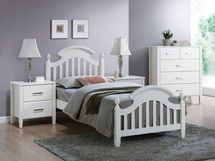 Łóżko drewniane LIZBONA 90x200