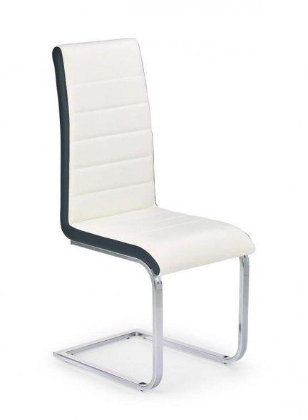 Krzesło K-132 biało-czarne