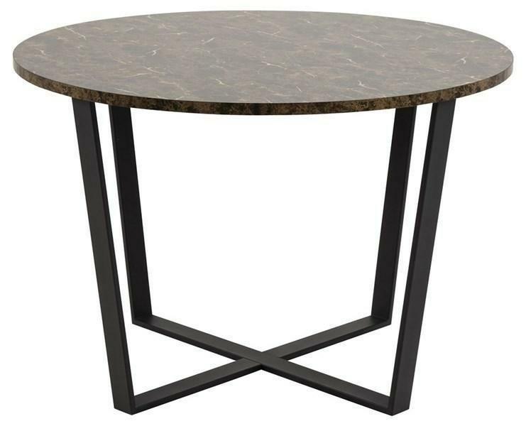 Stół AMBLE 110 brązowy