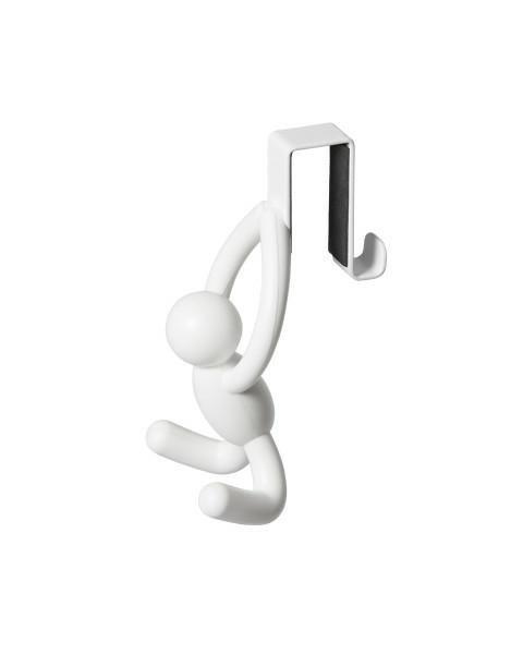 Wieszak na drzwi BUDDY biały