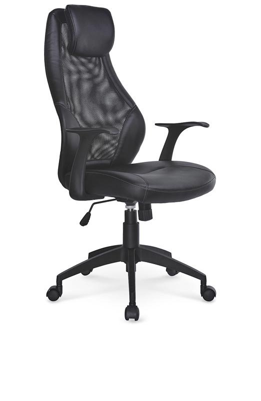 Fotel biurowy TORINO czarny