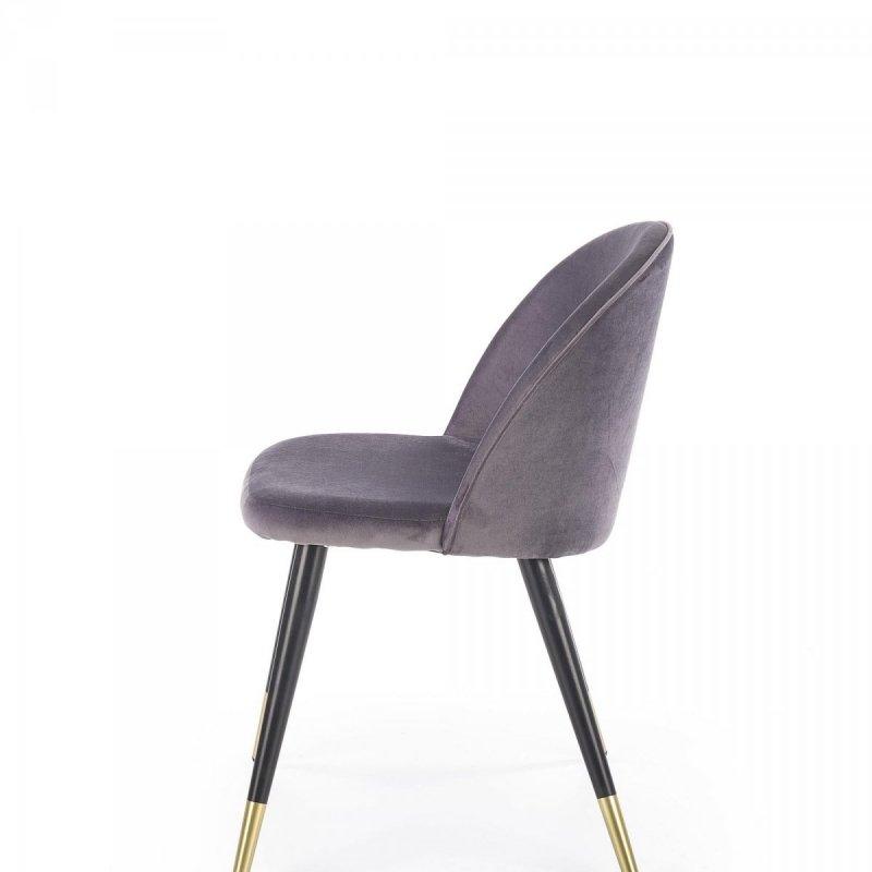 Krzesło K315 ciemno popielate